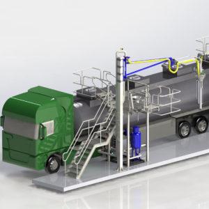 Установки верхнего налива (УВН) в авто- и полуприцепы-цистерны