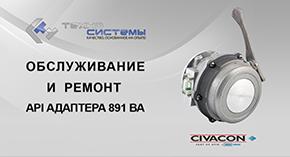 Обслуживание и ремонт API адаптера Civacon 891 ВА