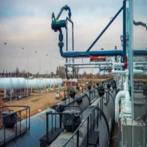 Установка верхнего налива сжиженных углеводородных газов в цистерны