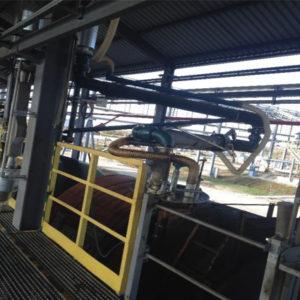 Установка верхнего налива высоковязких нефтепродуктов в цистерны