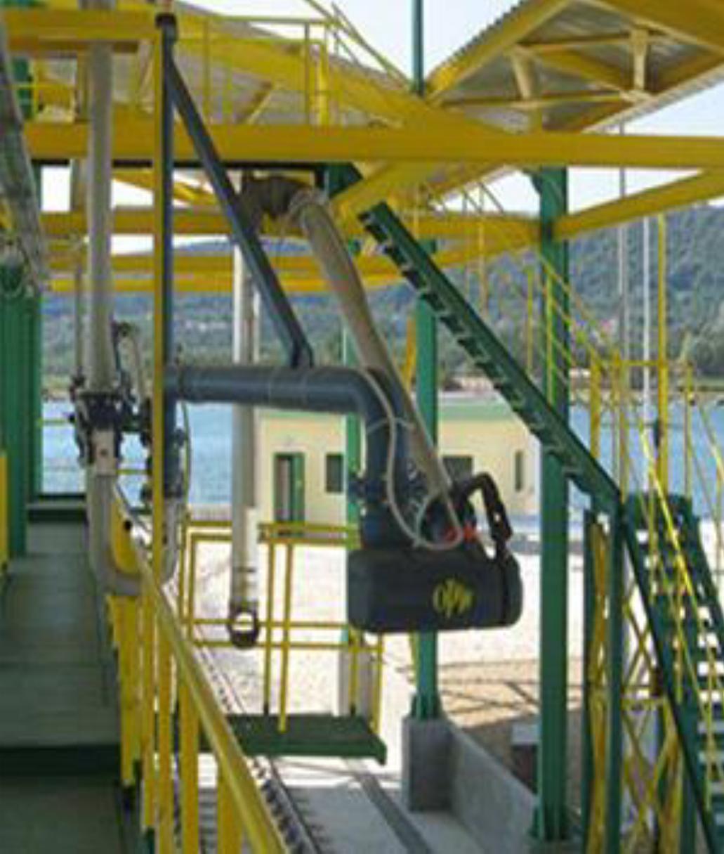 Установка верхнего налива Type-G с дополнительной трубой