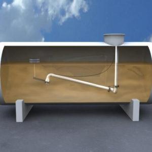 Устройство забора нефтепродуктов - модель 764 (забор сверху)
