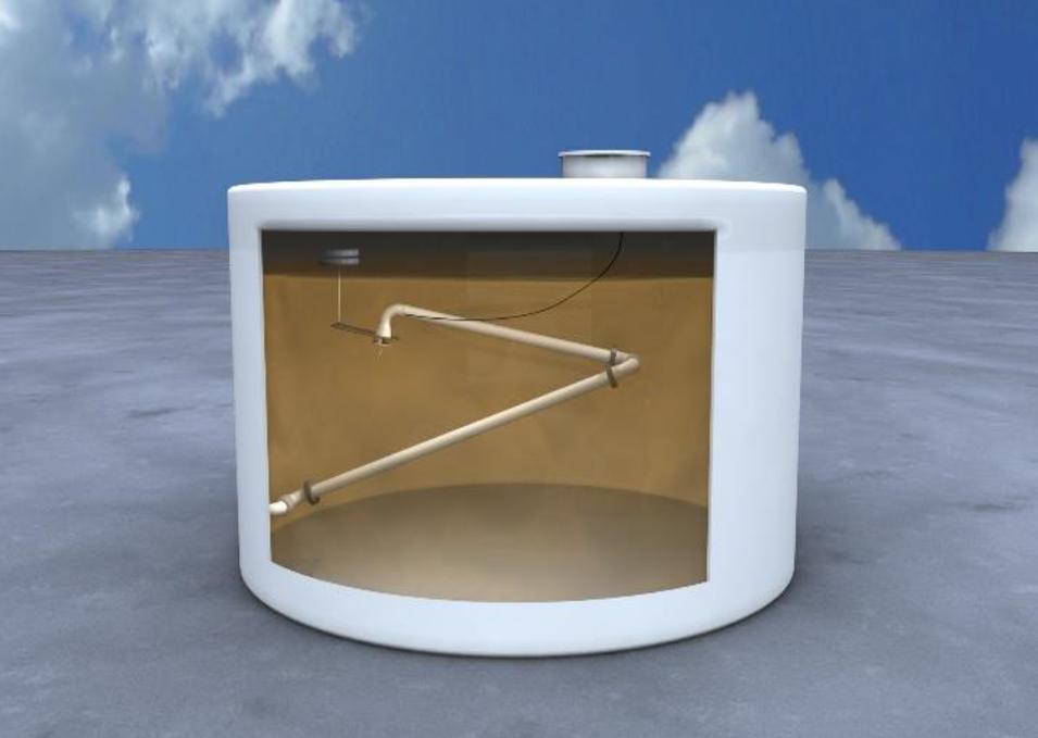 Устройство забора нефтепродуктов для больших вертикальных резервуаров - модель 766