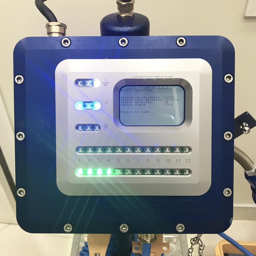 Монитор предотвращения перелива и контроля заземления CIVACON 8800Е