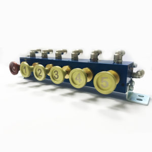 Пневматические блоки управления клапанами автоцистерны PCP-TS-1/5
